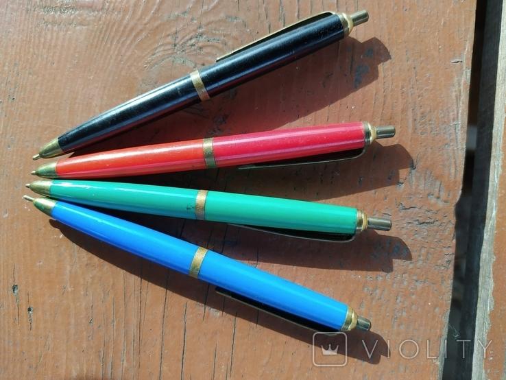 4 шариковые ручки SCHAH времен СССР., фото №5