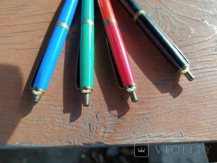 4 шариковые ручки SCHAH времен СССР., фото №6