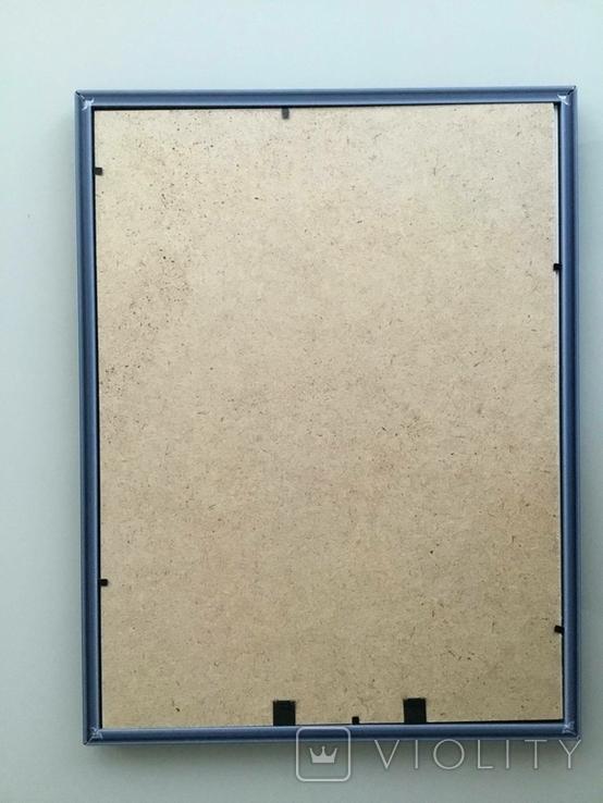 Картина картон, акрил, абстракция., фото №3