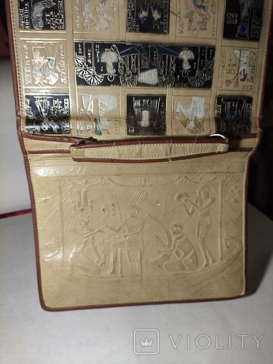 Сумка с египетскими мотивами., фото №6