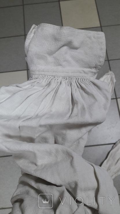 Рукава для сорочки на домотканому полотні, фото №3