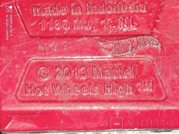 Hot wheels high double decker Bus 2013, фото №6