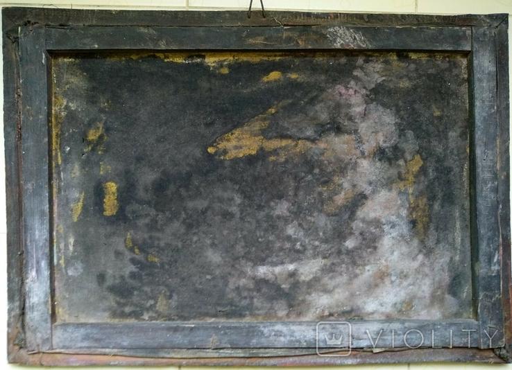 Картина, художник Мотиль Й. Копия., фото №7