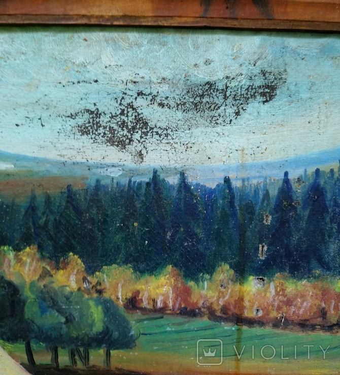 Картина, художник Мотиль Й. Копия., фото №8