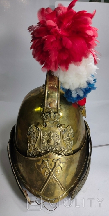 Шлем с пером. Видео обзор, фото №2