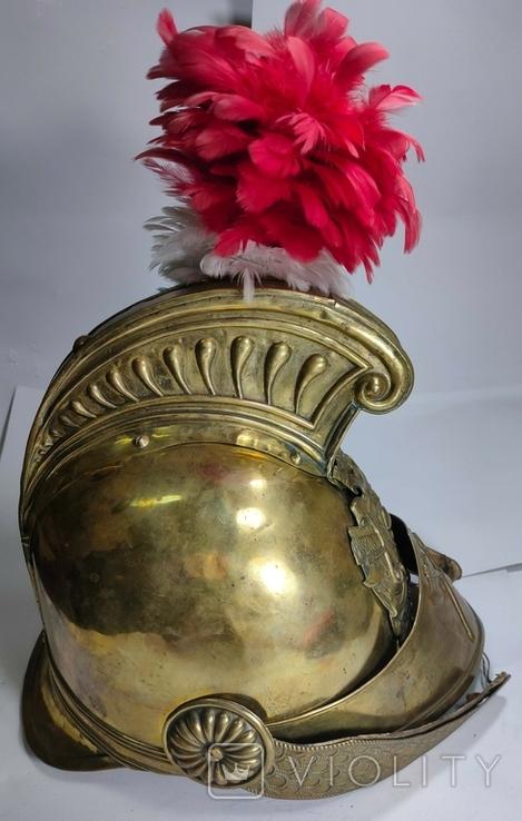 Шлем с пером. Видео обзор, фото №3