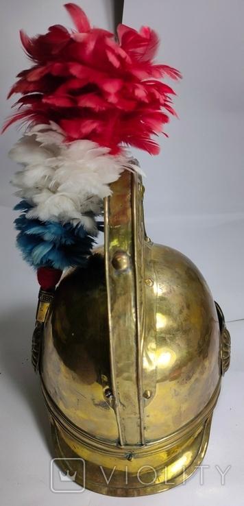Шлем с пером. Видео обзор, фото №4