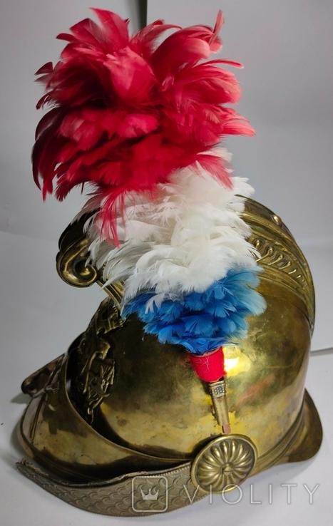 Шлем с пером. Видео обзор, фото №5