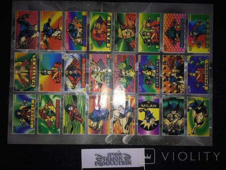 Хит , чистий альбом для наклеек -Х - Ман / X - Man 90-х, фото №2