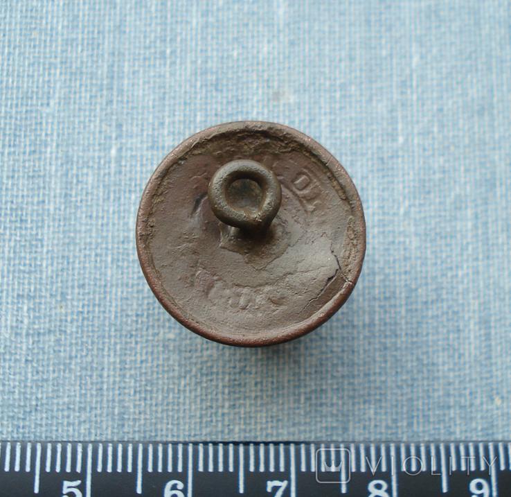 Пуговица с накладным орлом, позолота, фото №7