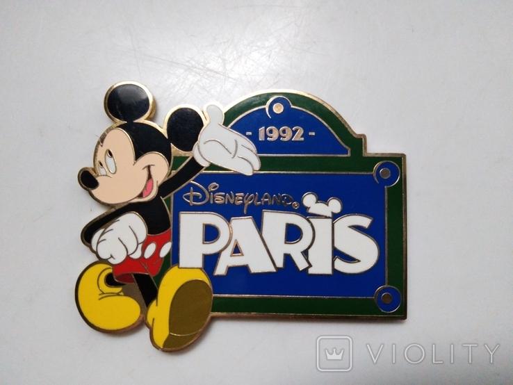 Магнит Диснейленд Париж 1992 год, фото №2