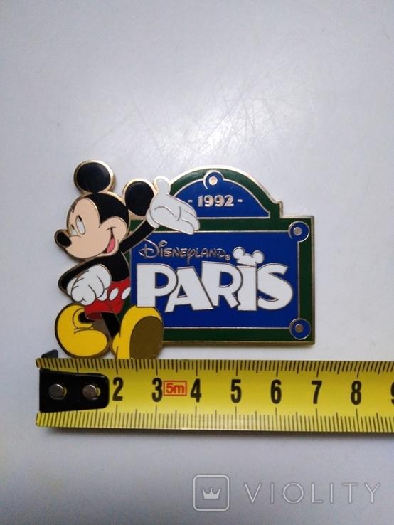 Магнит Диснейленд Париж 1992 год, фото №4