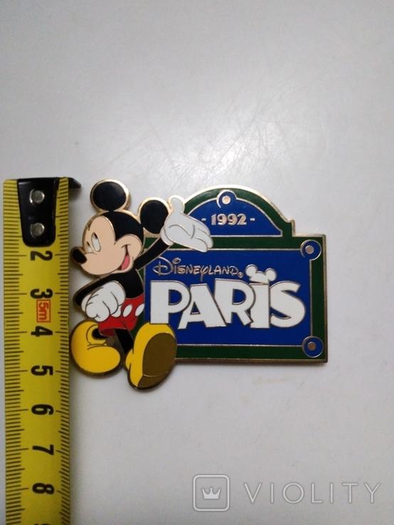 Магнит Диснейленд Париж 1992 год, фото №5