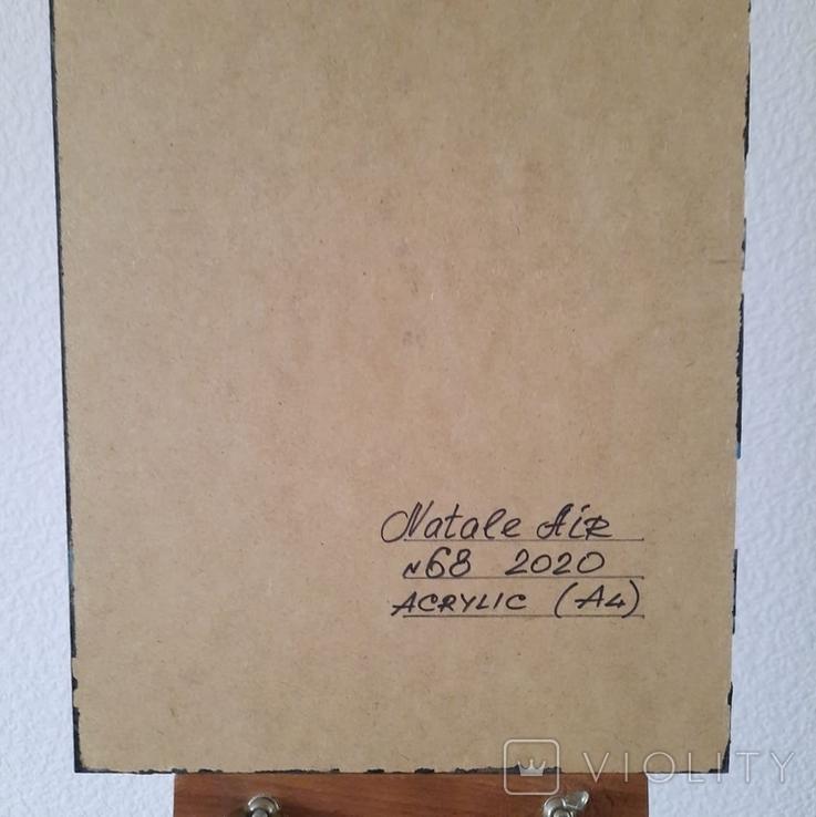 Картина/ живопис/ абстракція Fluid Art #68 acrylic, фото №13