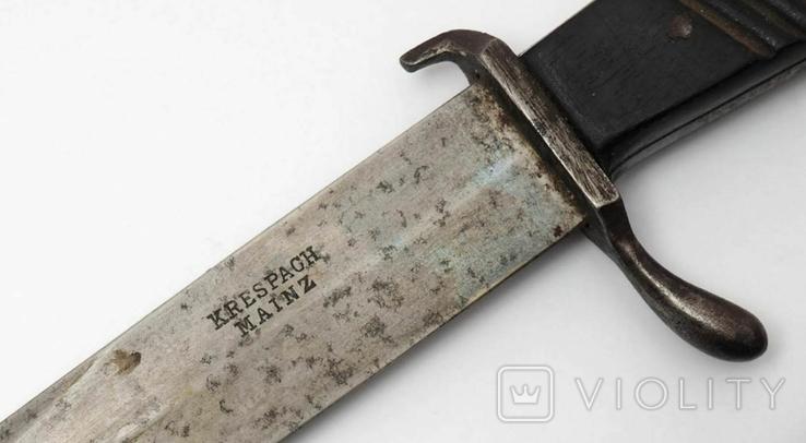 Нож для масла Krespach Mainz. 3 рейх., фото №10