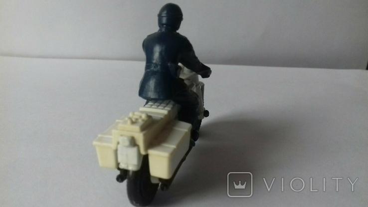 Модель мотоцикл Honda750, Matchbox, 1977, фото №3