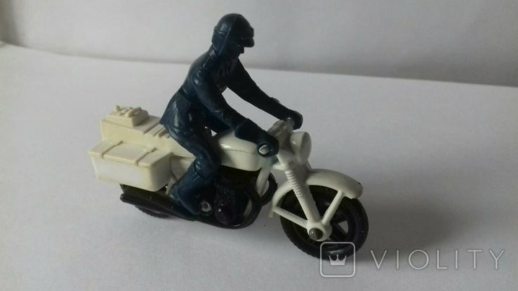 Модель мотоцикл Honda750, Matchbox, 1977, фото №2