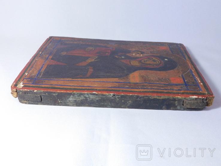 Икона. Иерусалимская Божья Матерь. Размер 17х22 см, фото №10