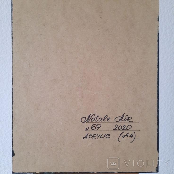 Картина/ живопис/ абстракція Fluid Art #69 acrylic, фото №13