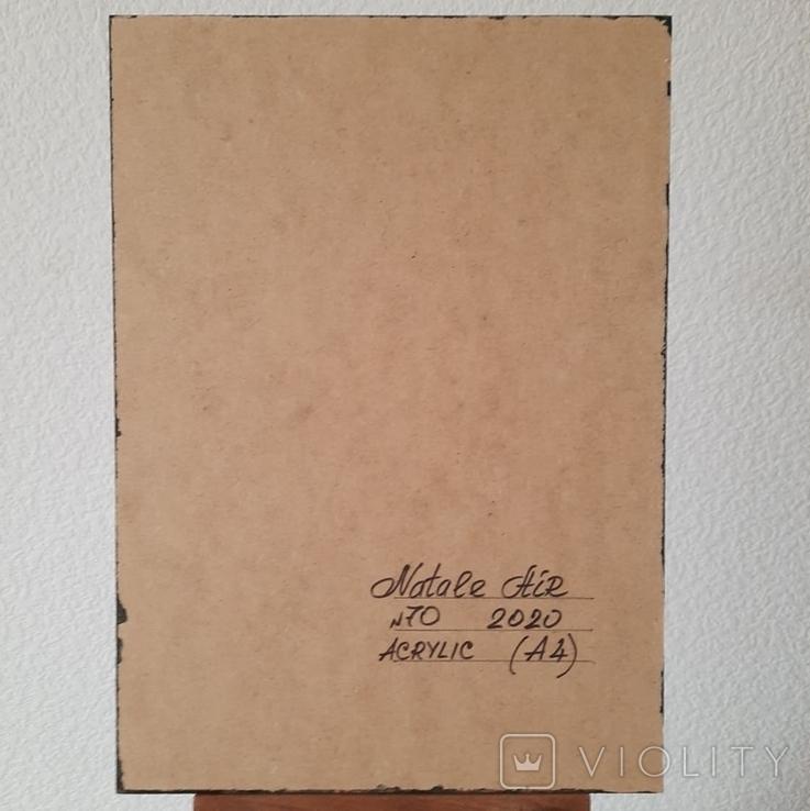 Картина/ живопис/ абстракція Fluid Art #70 acrylic, фото №13