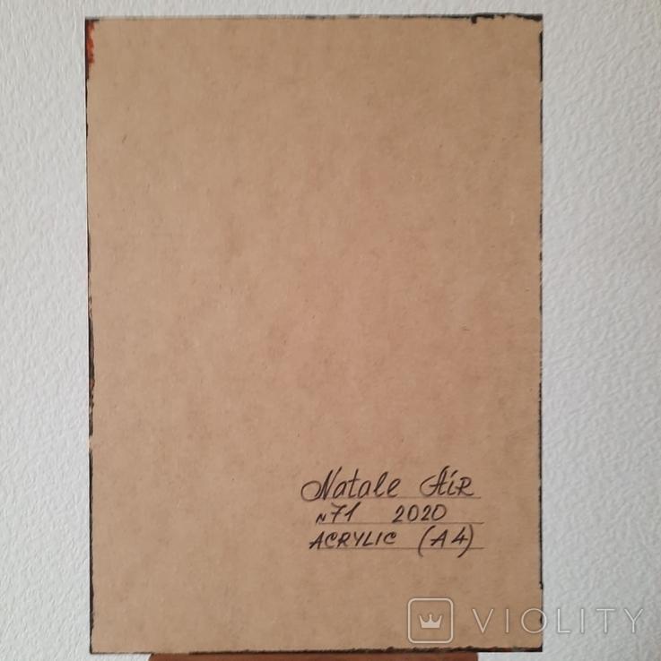 Картина/ живопис/ абстракція Fluid Art #71 acrylic, фото №13