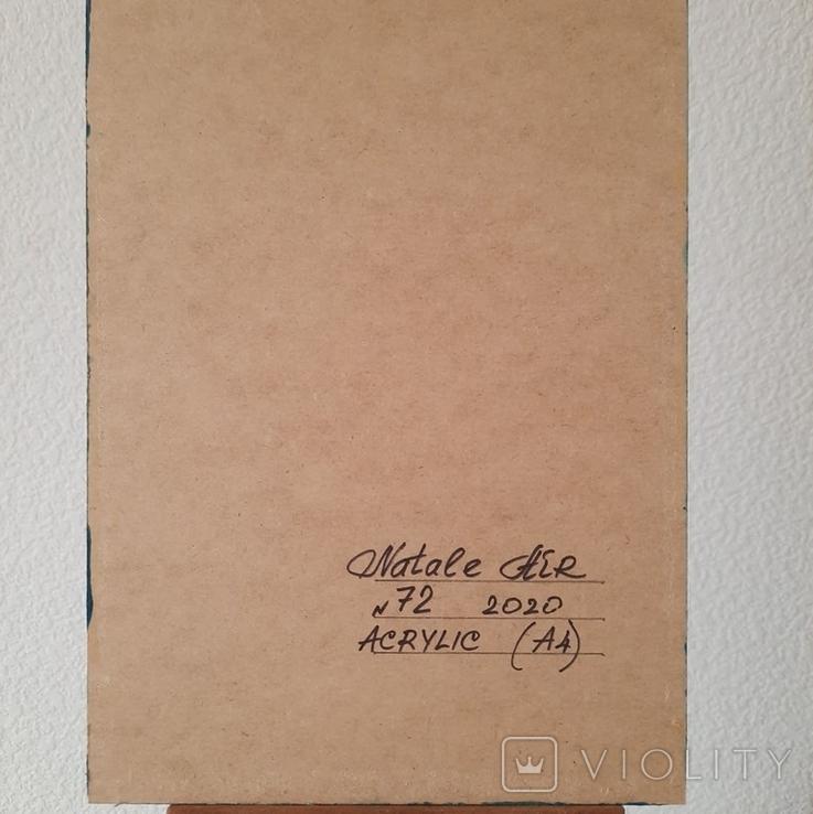 Картина/ живопис/ абстракція Fluid Art #72 acrylic, фото №13