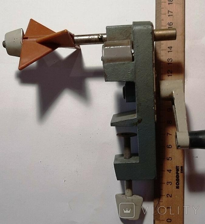 Устройство, для намотки катушек,трансформаторов Заводское изготовление (Б/У)+*, фото №2
