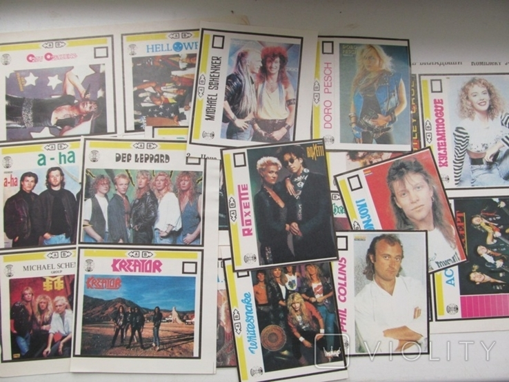 Вкладыши для аудиокассет 80-90 годов Новые 21 штука, фото №2