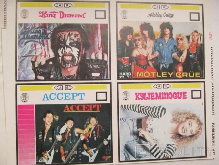 Вкладыши для аудиокассет 80-90 годов Новые 21 штука, фото №4