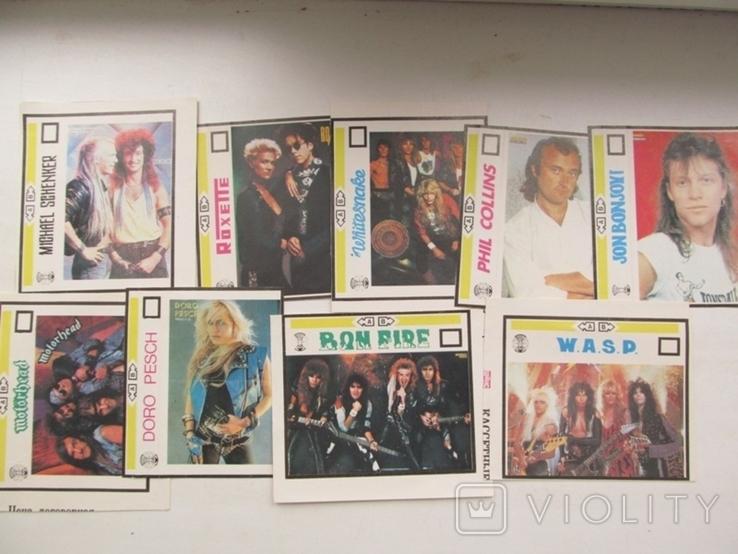 Вкладыши для аудиокассет 80-90 годов Новые 21 штука, фото №5