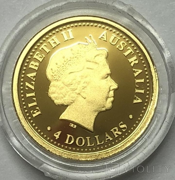 4 доллара 2006 года. Австралия (1/25 oz)., фото №3