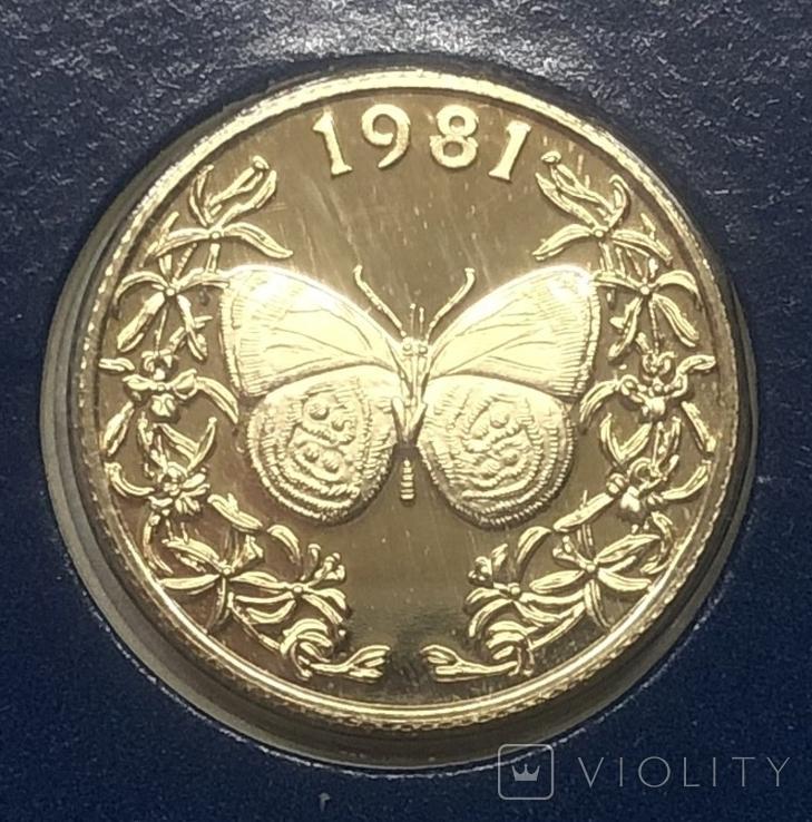 20 бальбоа 1981 года. Панама., фото №2