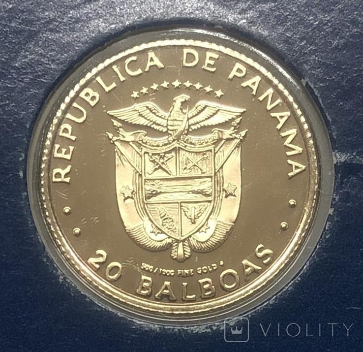 20 бальбоа 1981 года. Панама., фото №3
