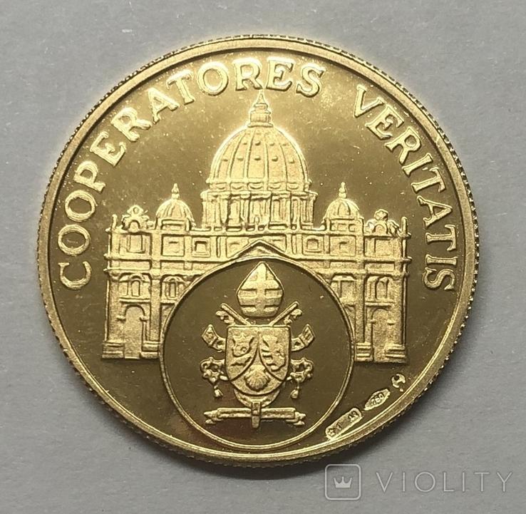 Жетон-монета Бенедикт XVI. Ватикан, фото №2