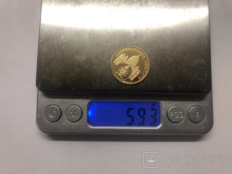 Жетон-монета Бенедикт XVI. Ватикан, фото №5