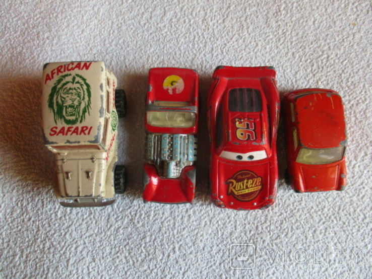 Модельки авто. (4шт), фото №11