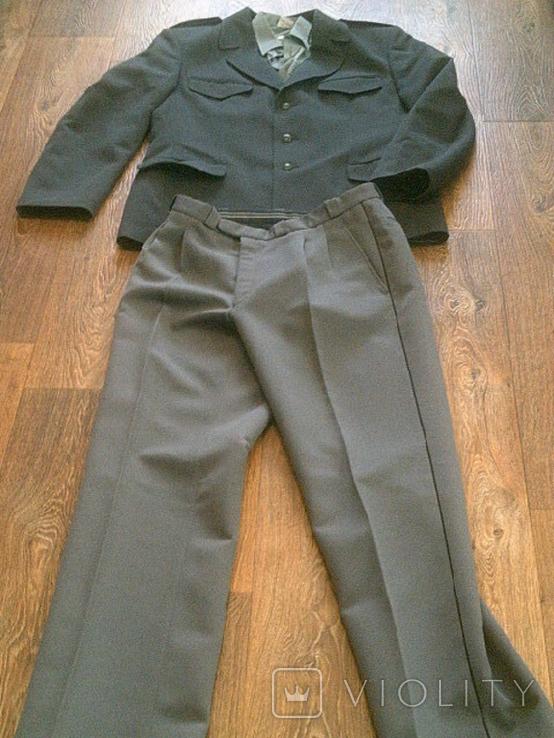 Китель + штаны (серые) разм.40, фото №5