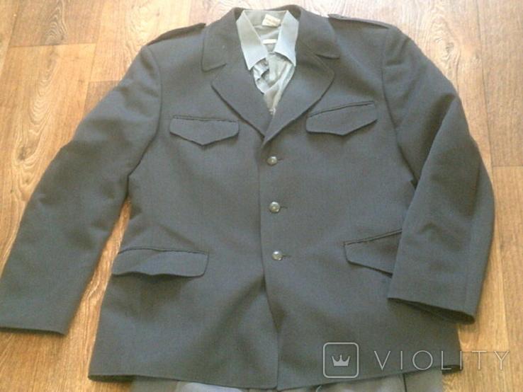 Китель + штаны (серые) разм.40, фото №2