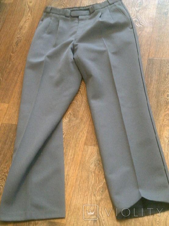 Китель + штаны (серые) разм.40, фото №8