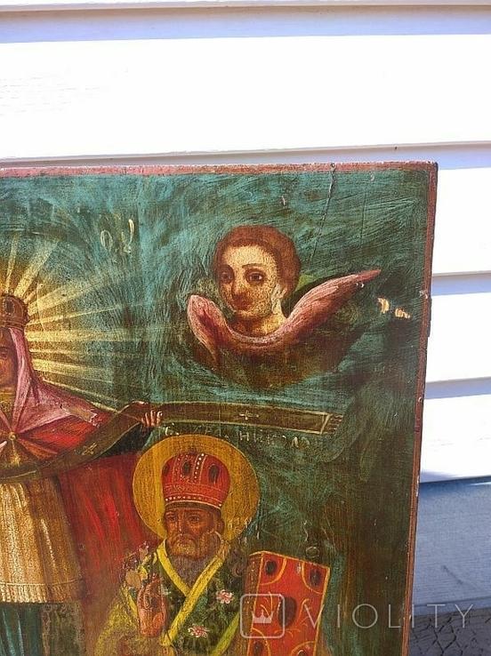 Покров Пресвятой Богородицы ( 57 на 70 см ), фото №5
