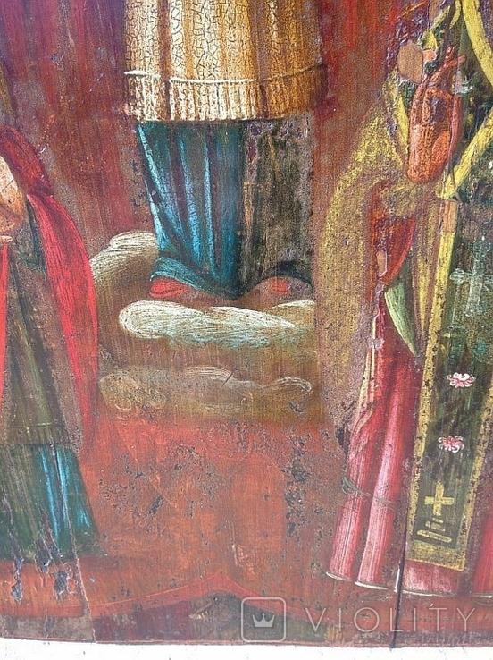 Покров Пресвятой Богородицы ( 57 на 70 см ), фото №9