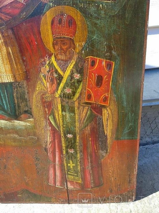 Покров Пресвятой Богородицы ( 57 на 70 см ), фото №10