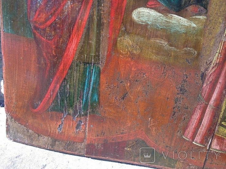 Покров Пресвятой Богородицы ( 57 на 70 см ), фото №11