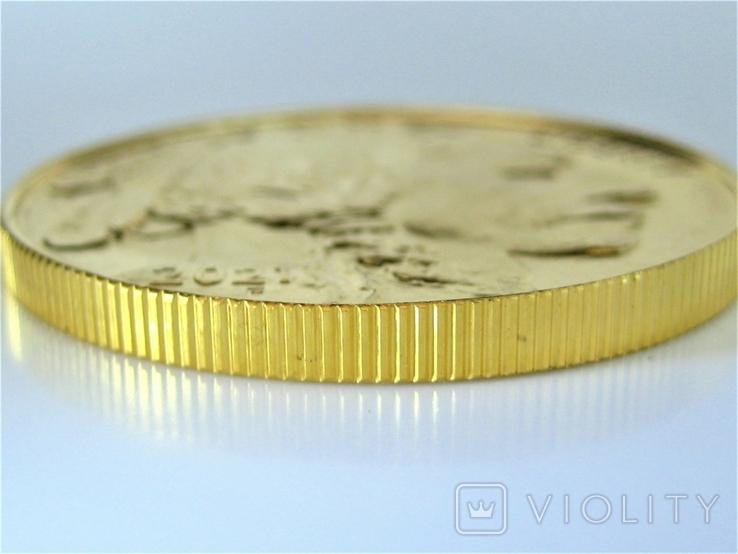 США 50 долларов 2021 г. Баффало, фото №7