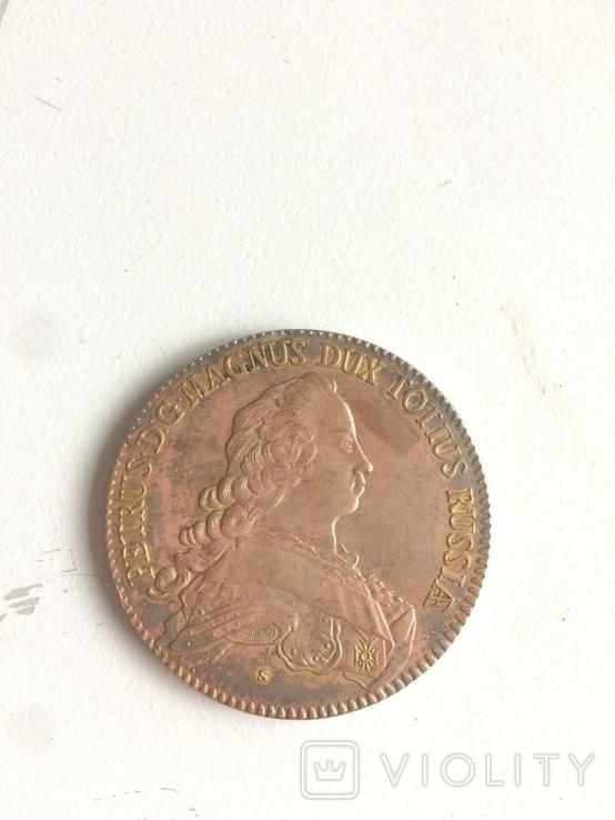1753 копия монеты, фото №2