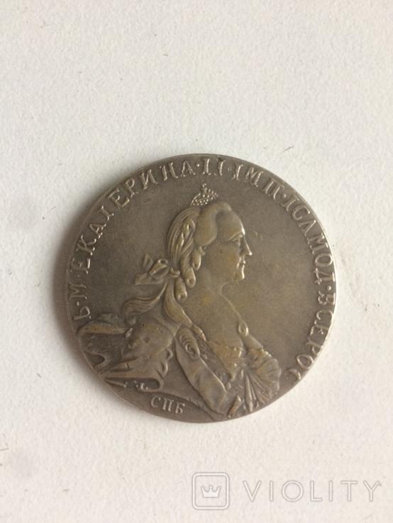 Рубль копия монеты, фото №2