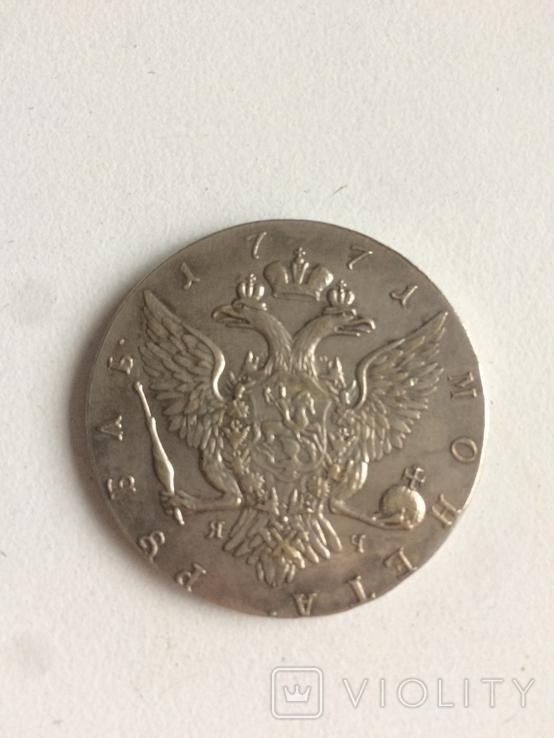 Рубль копия монеты, фото №3