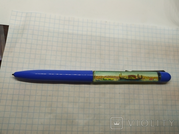 Ручка шариковая с плавающим корабликом. Venezia, фото №3