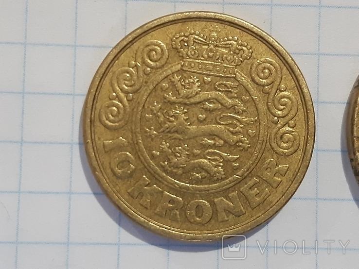 10 и 20 крон, Дания, фото №3