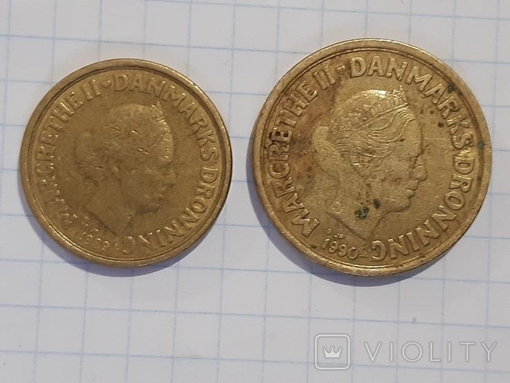 10 и 20 крон, Дания, фото №5
